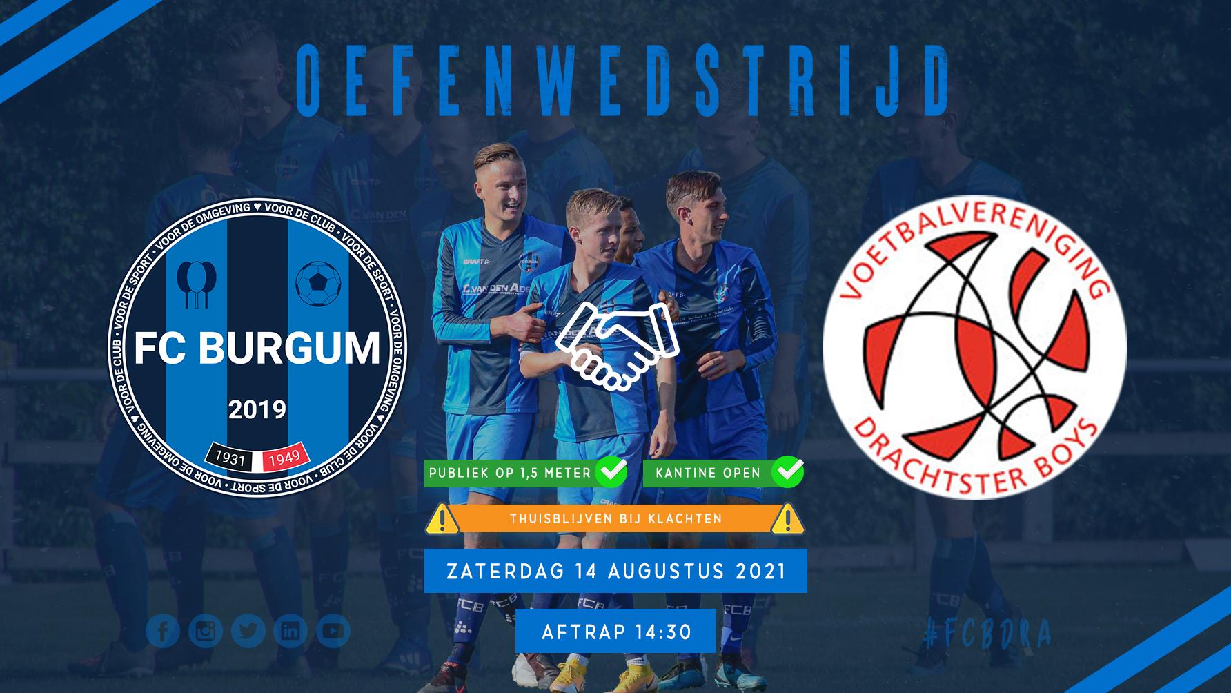 Thuiswedstrijd FC Burgum 1 & VR1