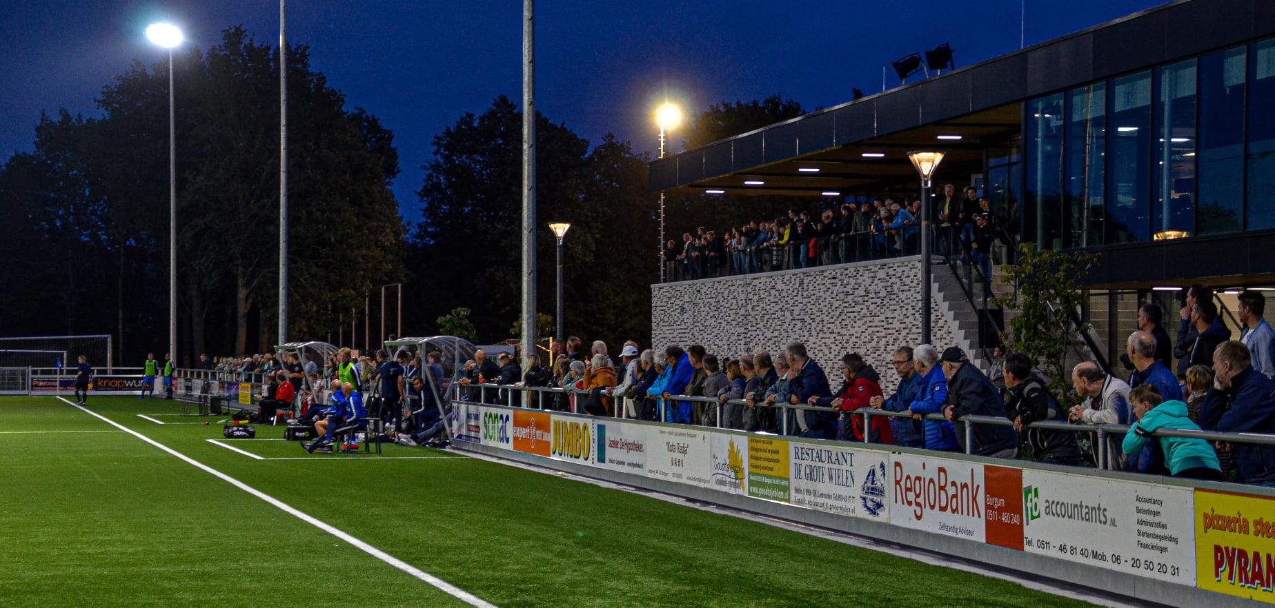 Gratis toegang tot wedstrijden FC Burgum 1