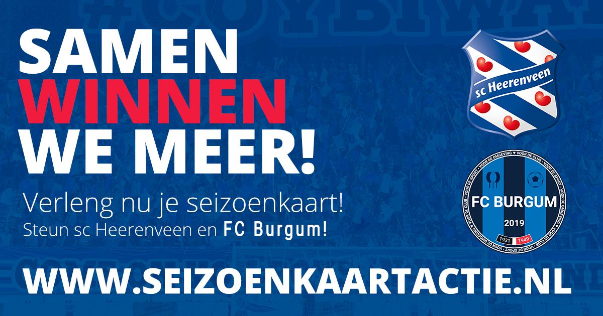 Seizoenkaartactie SC Heerenveen