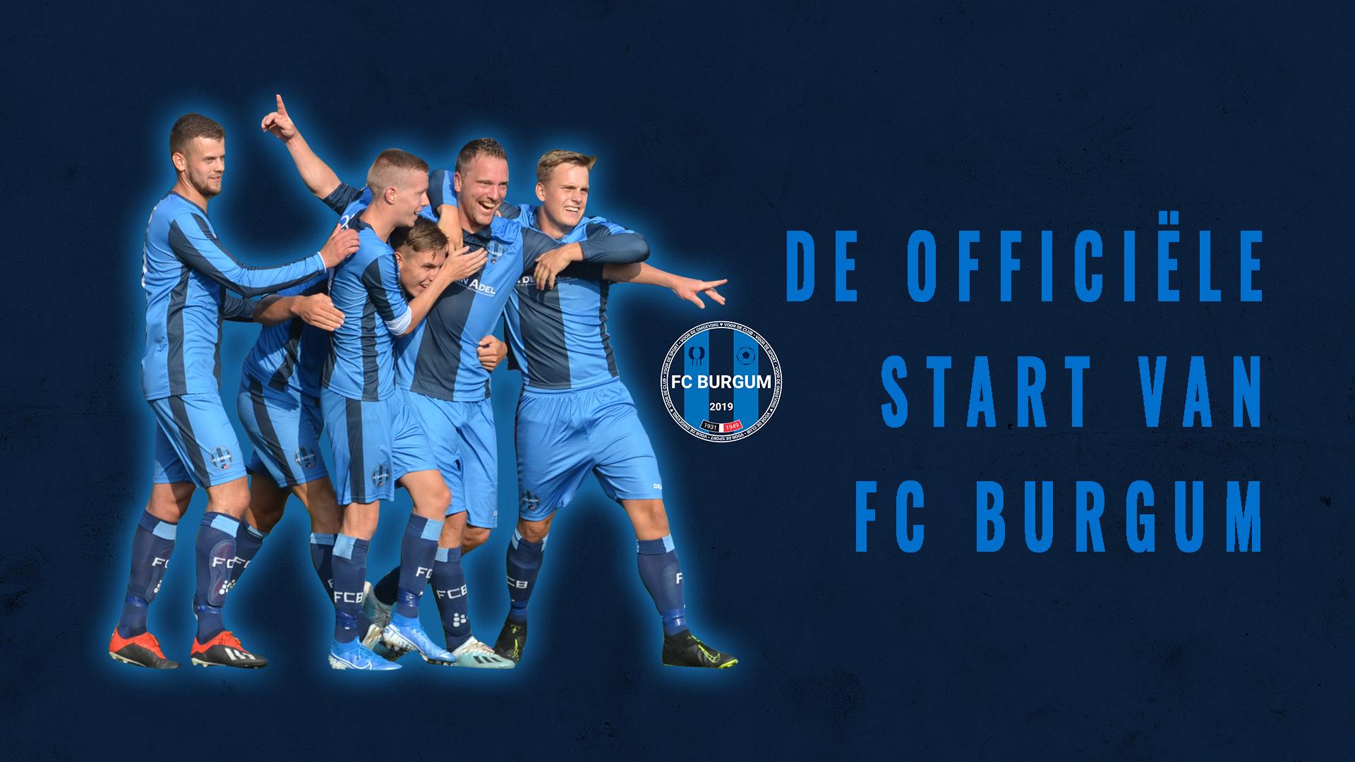 De officiële start van FC Burgum!