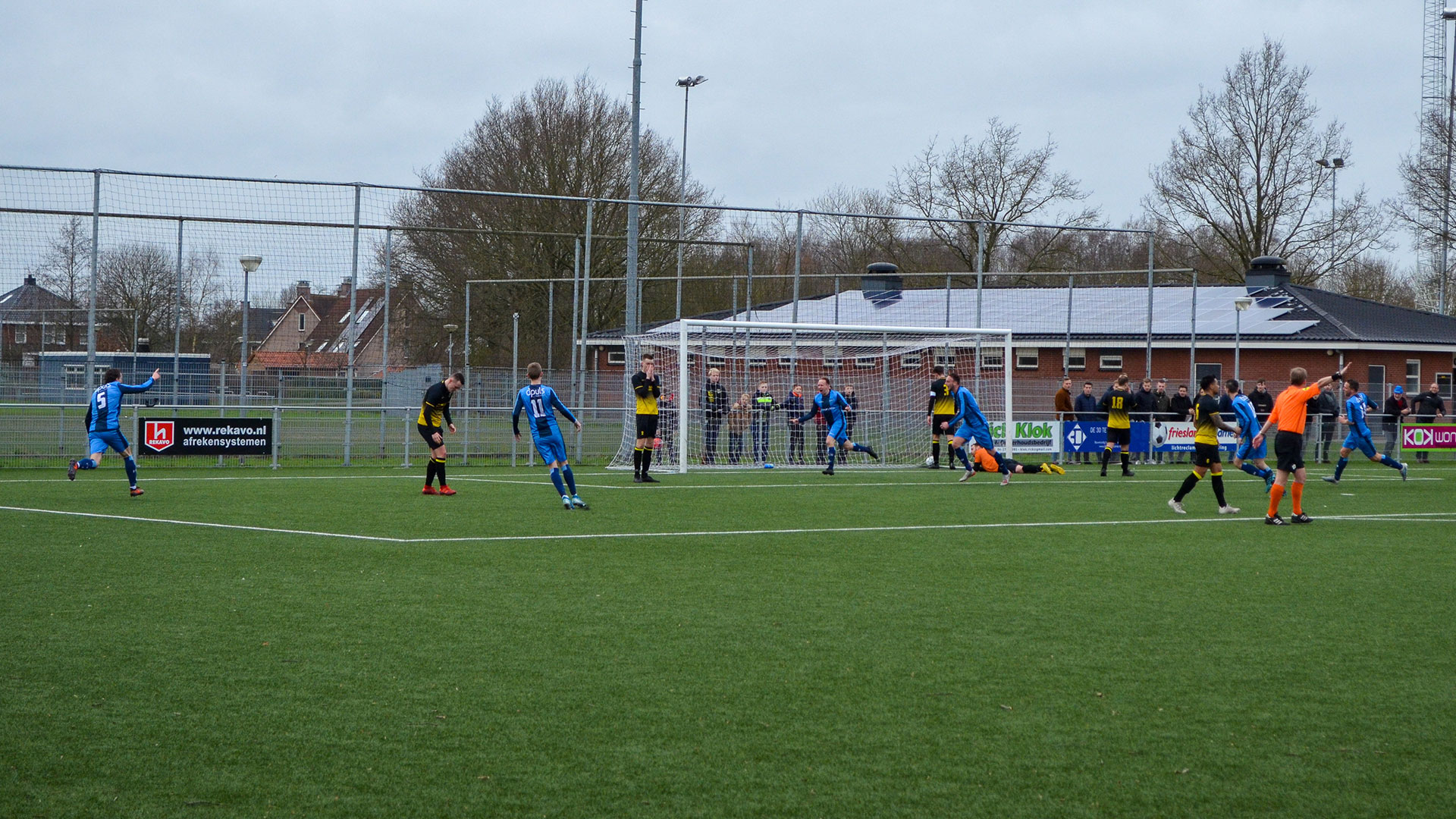 🎥 Hoogtepunten SV Marum - FC Burgum | 1-3