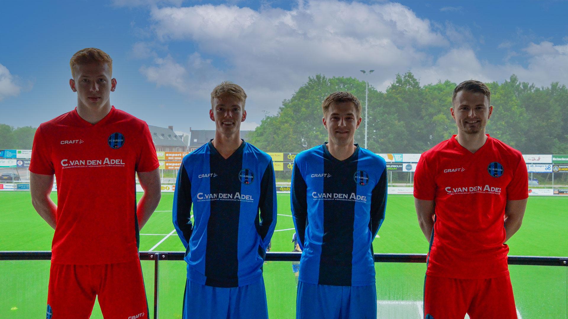 Nieuwe spelers FC Burgum 1