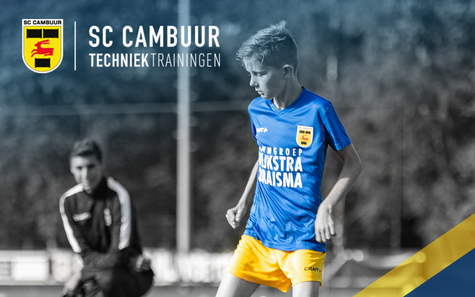 Start Cambuur Techniektrainingen 2020