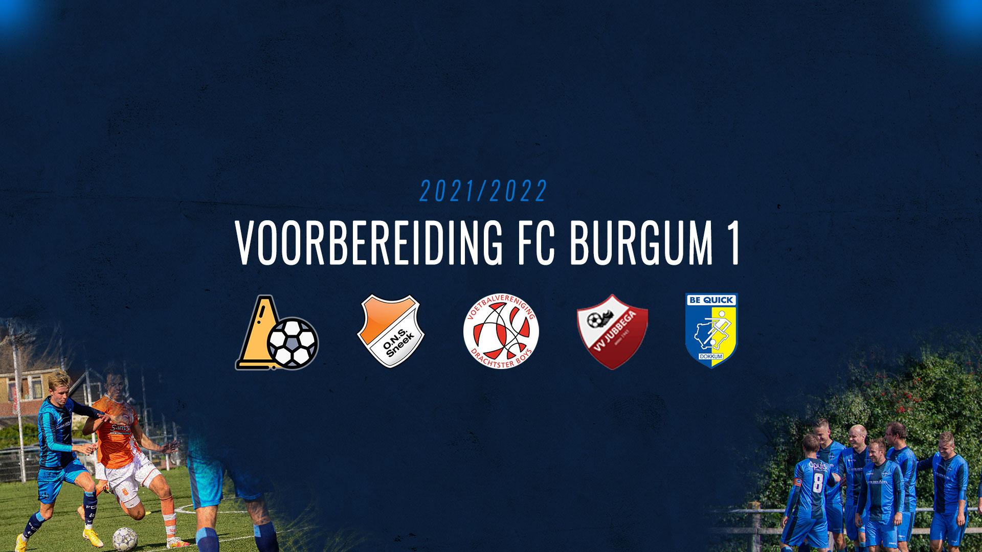Voorbereiding FC Burgum 1