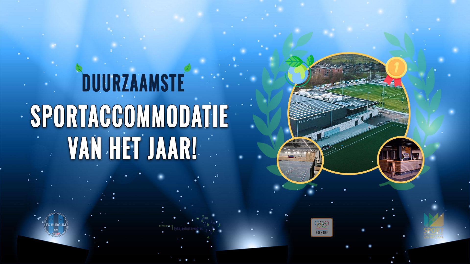 Nije Westermar winnaar Sportaccommodatie van het Jaar