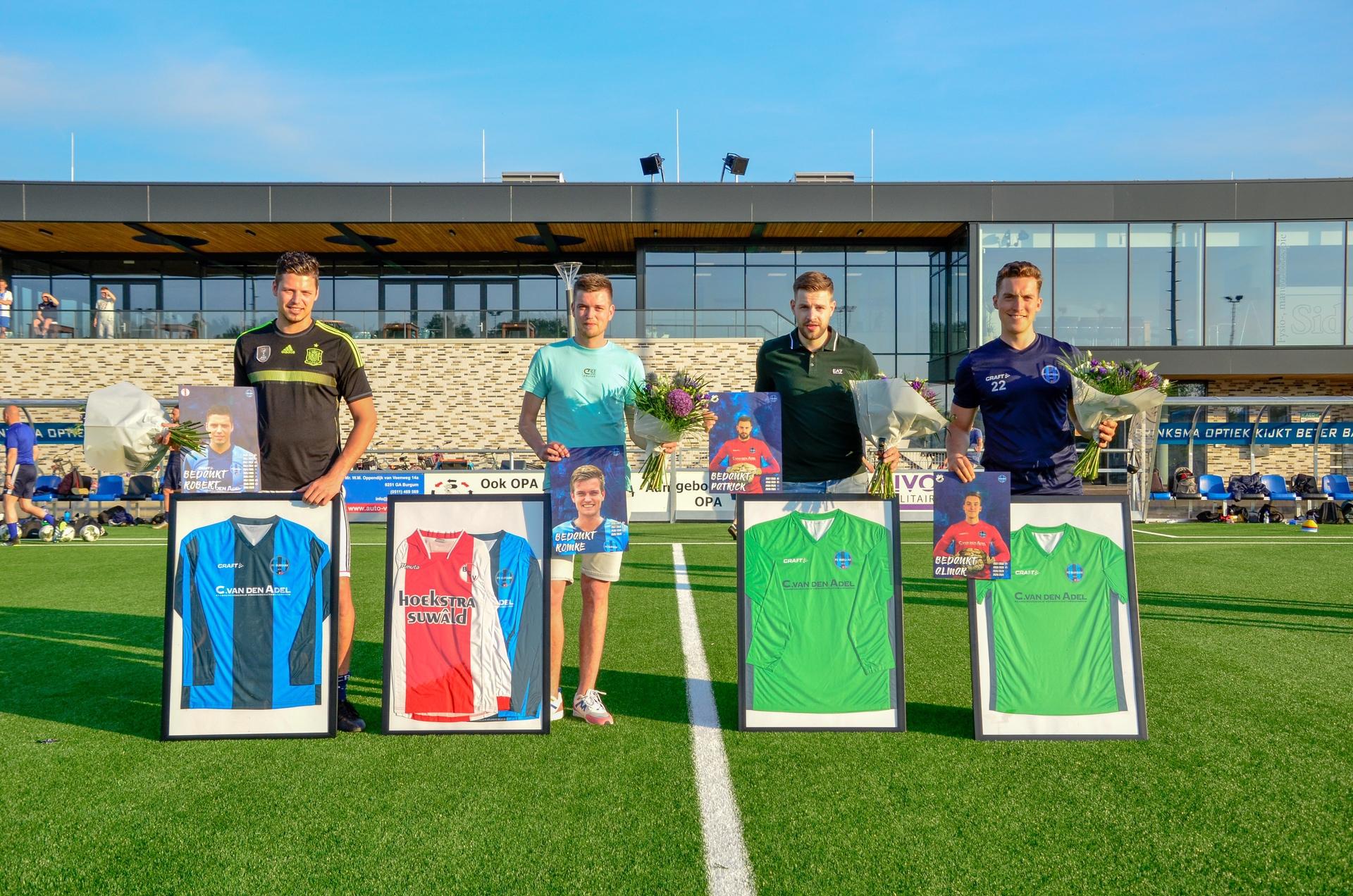 Afscheid spelers FC Burgum 1