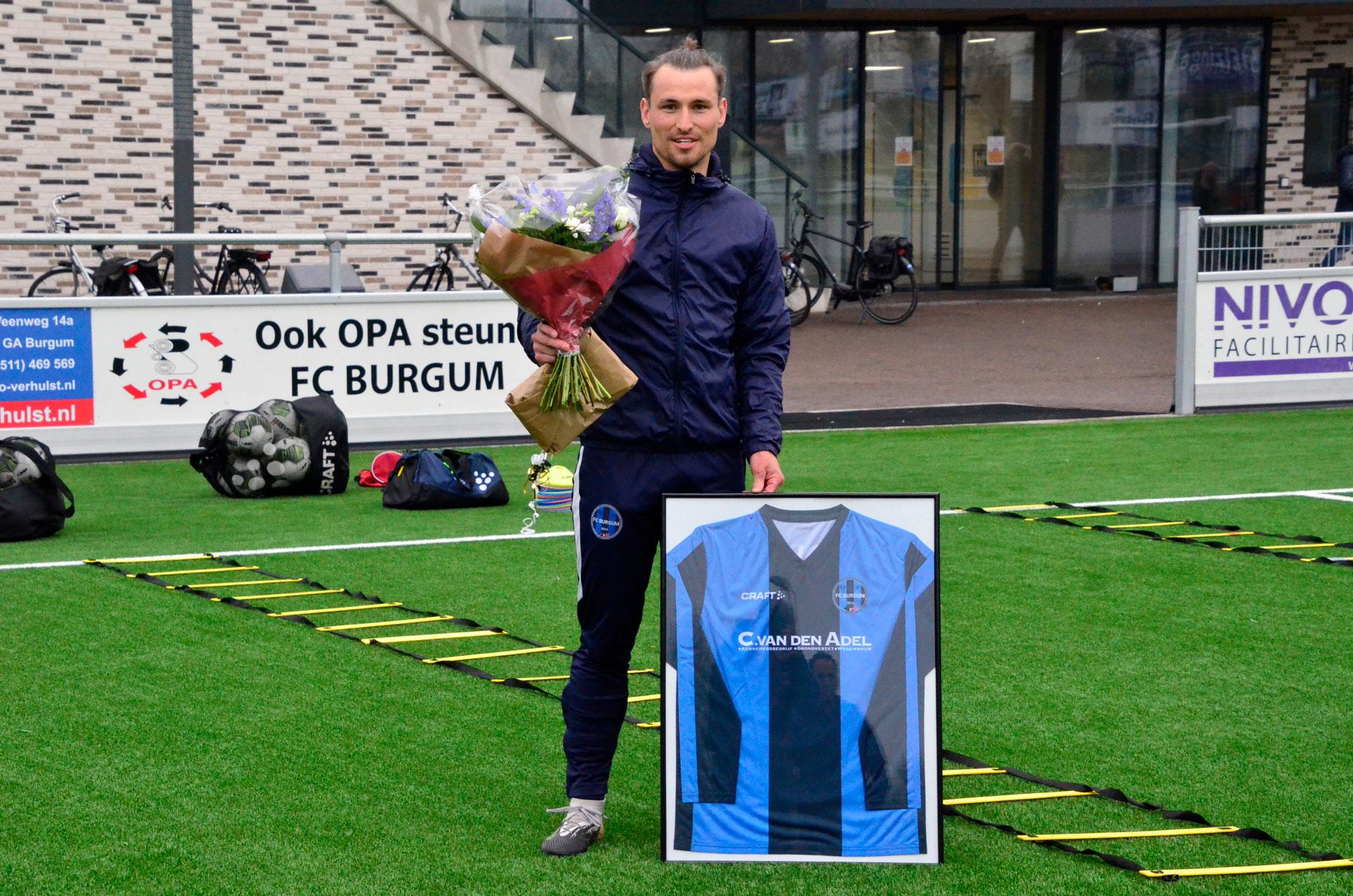 Erwin van der Meulen verlaat FC Burgum voor een mooi nieuw avontuur
