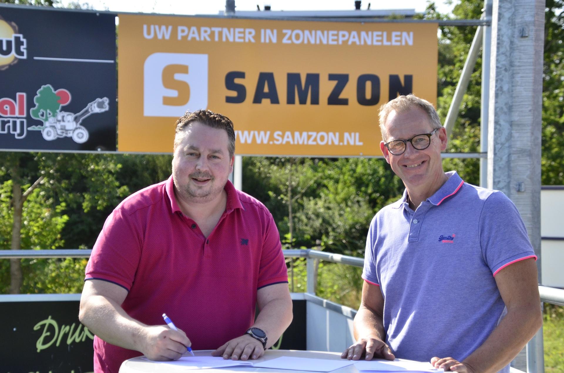 SAMZON BV nieuwe co-sponsor FC Burgum