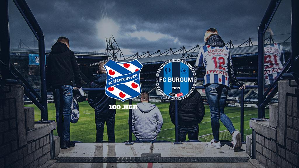 Steun SC Heerenveen én FC Burgum met het bestellen van een seizoenkaart