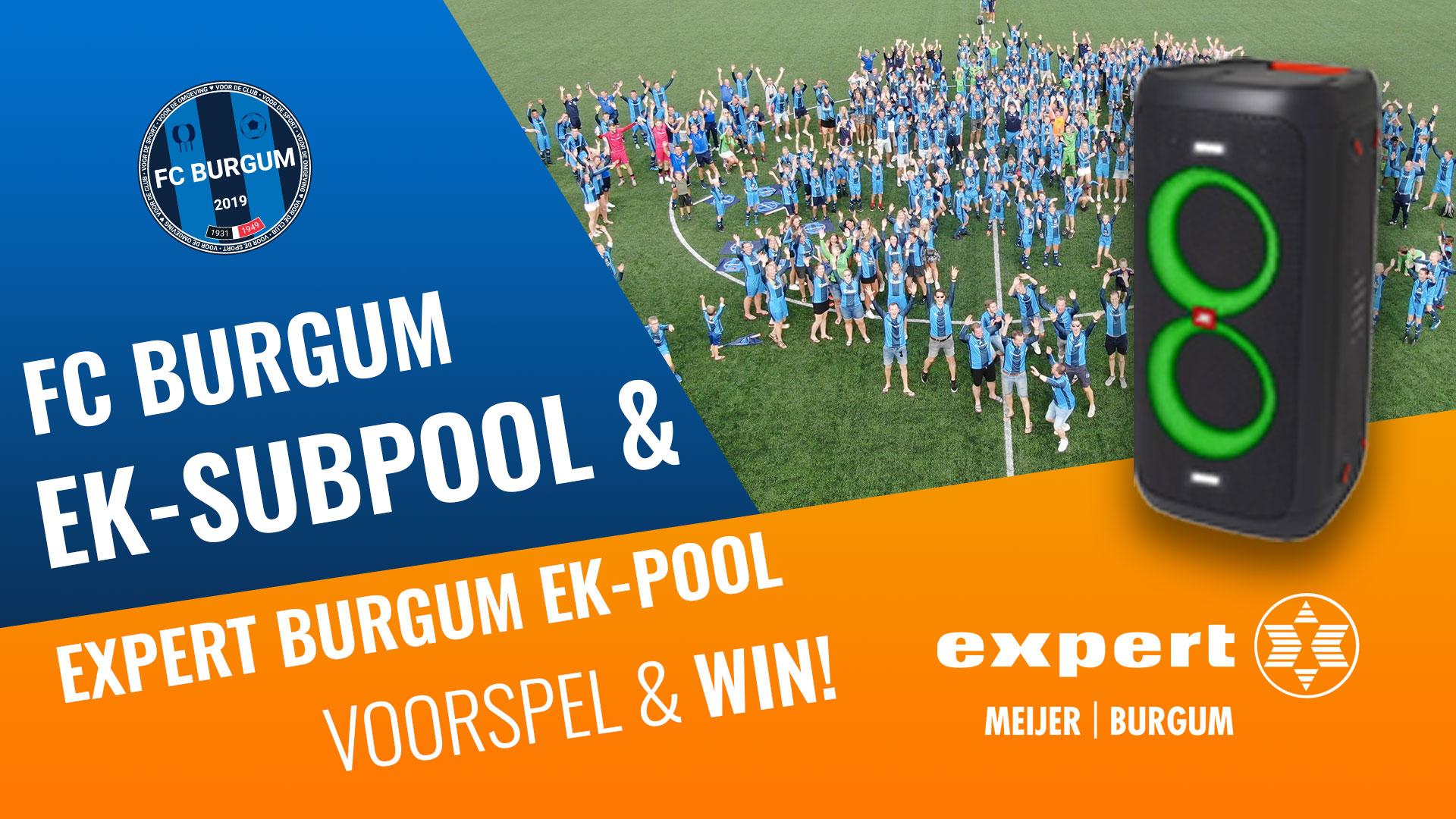 Doe mee met de EK-pool van Expert Meijer en FC Burgum en maak kans op fantastische prijzen!