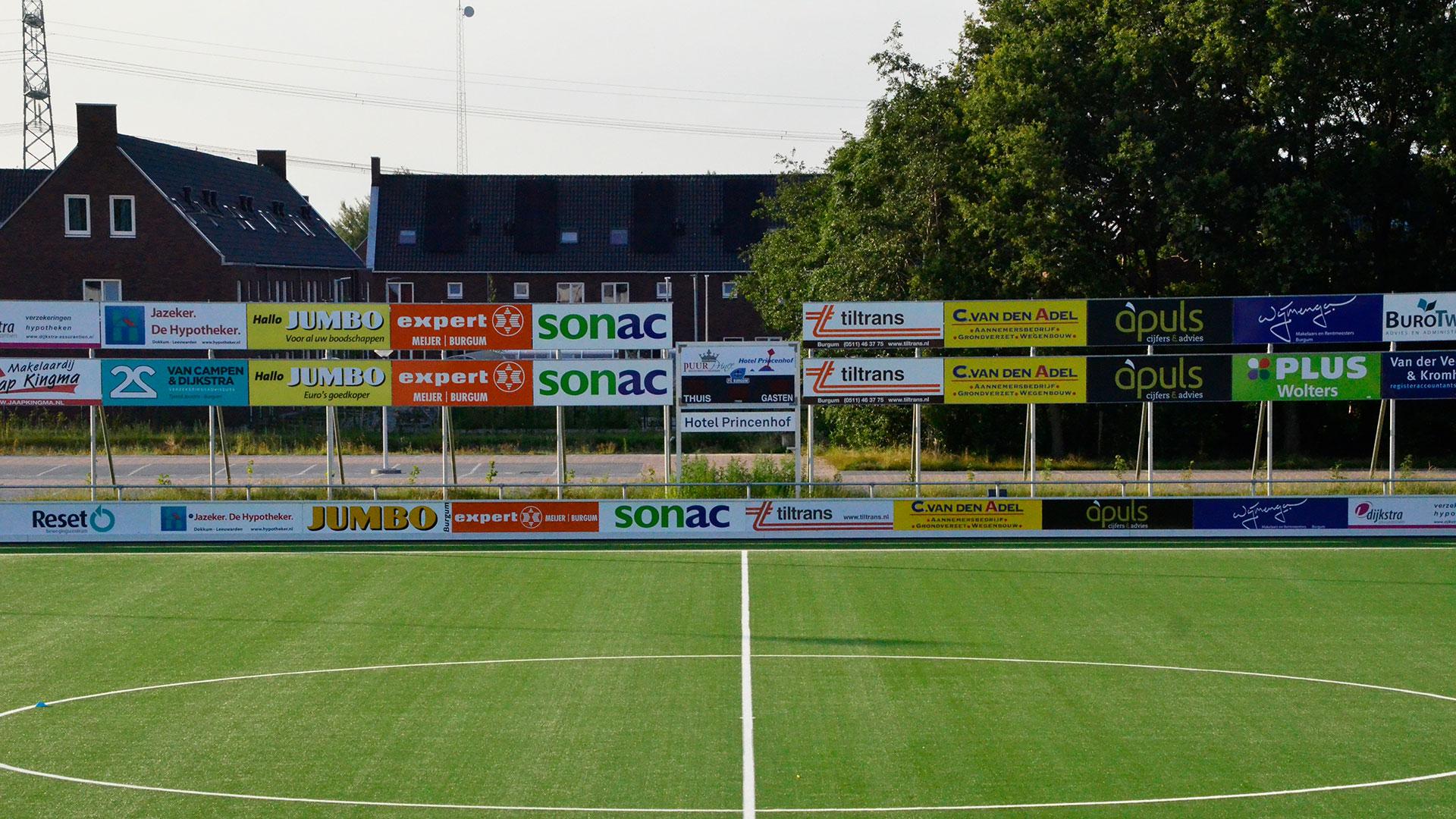 De sponsors in zicht