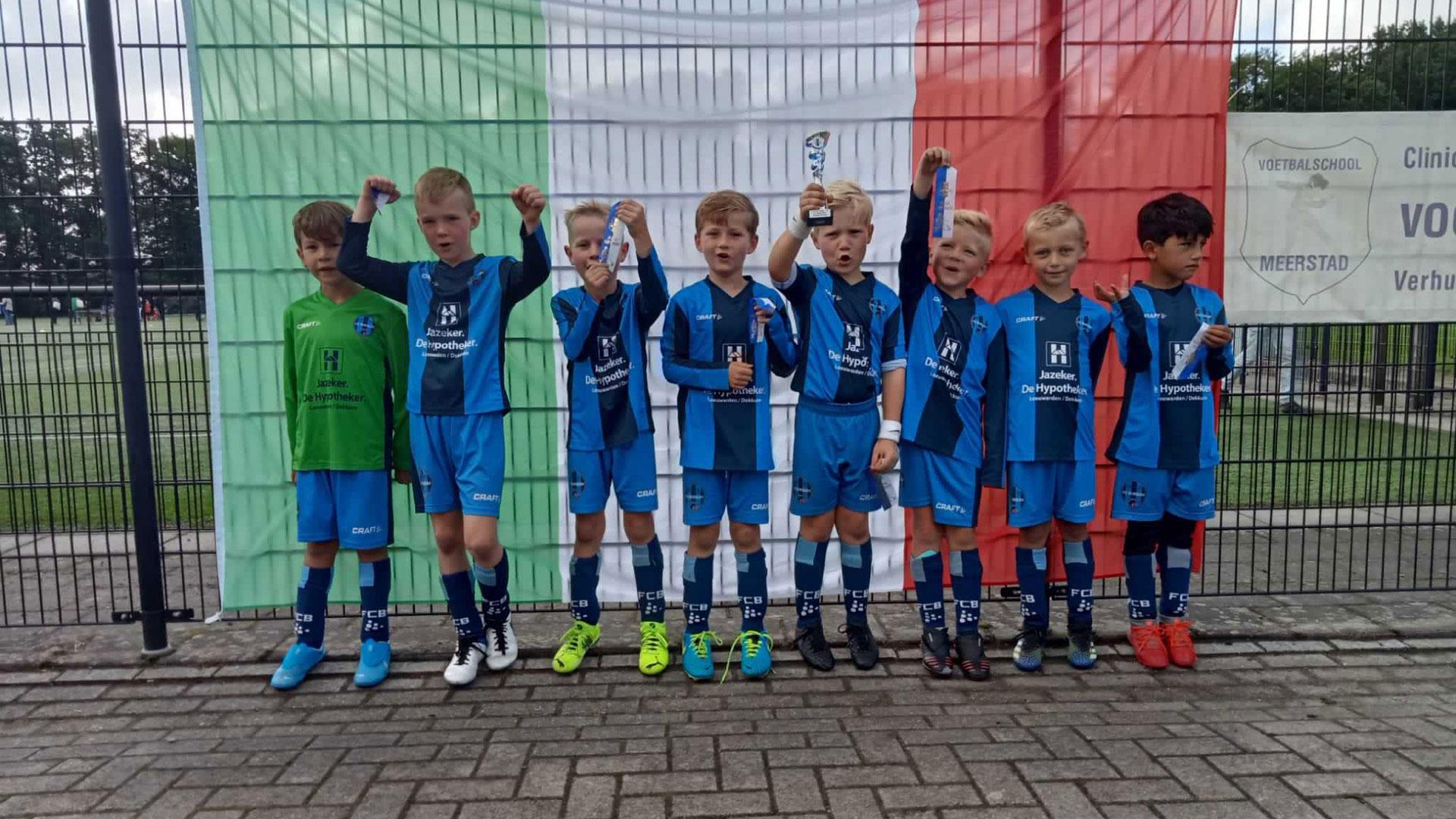FC Burgum 8-1 wint toernooi vv Helpman!