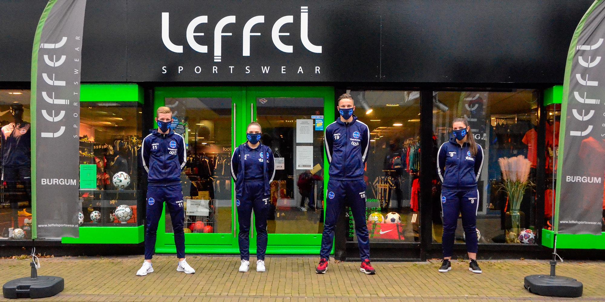 De FC Burgum mondkapjes liggen in de winkel!