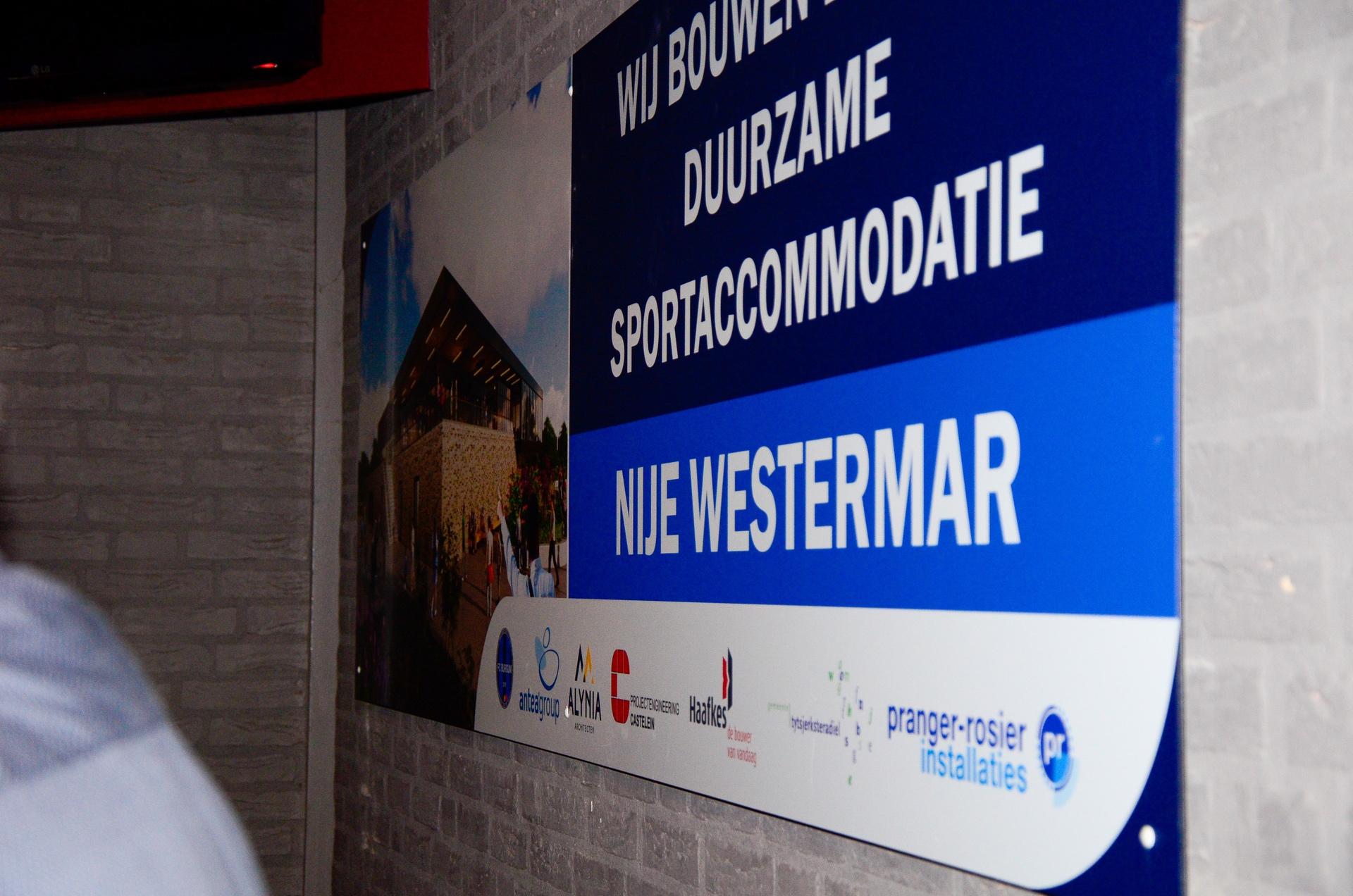 Nieuwe onderkomen FC Burgum heet Nije Westermar