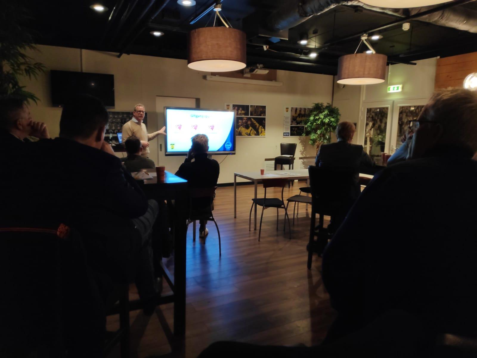 FC Burgum geeft presentatie bij SC Cambuur