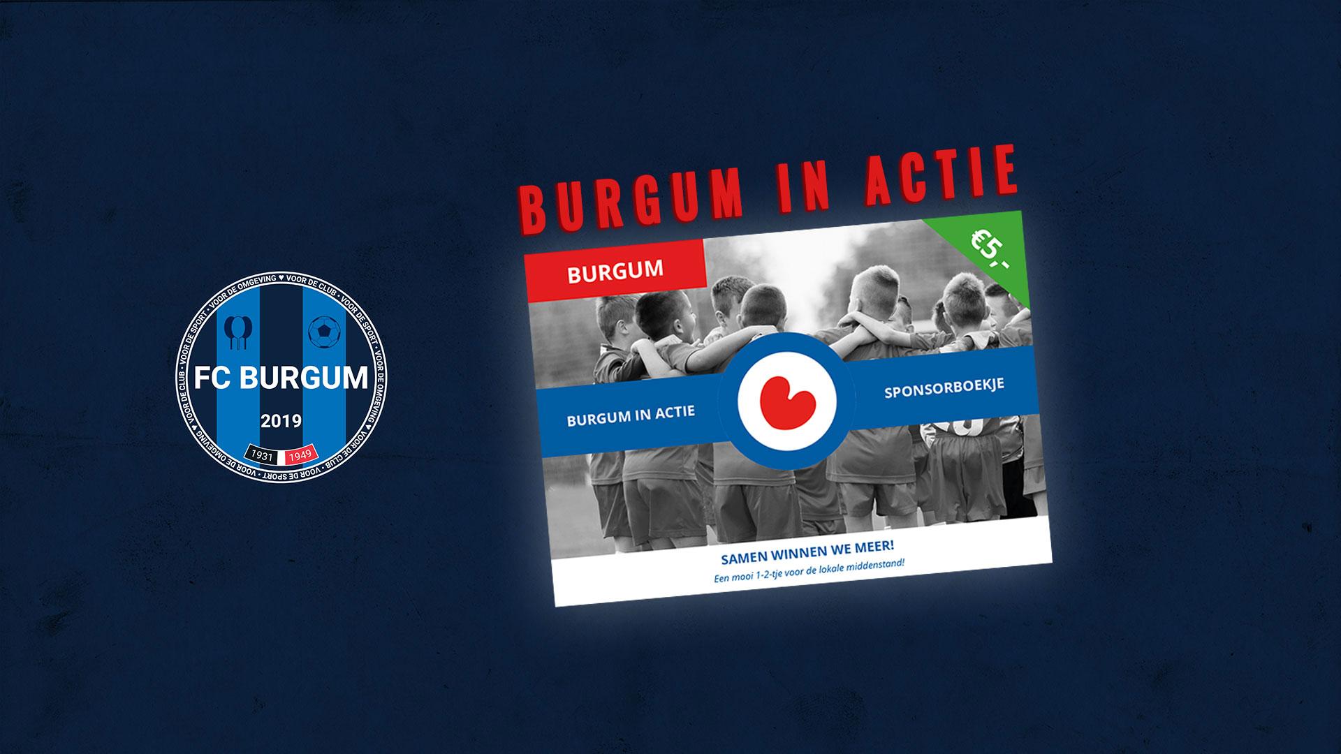 Heb jij al een sponsorboekje voor FC Burgum besteld?