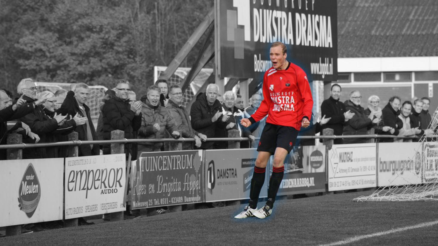 Rienk de Haas speelt volgend seizoen voor FC Burgum
