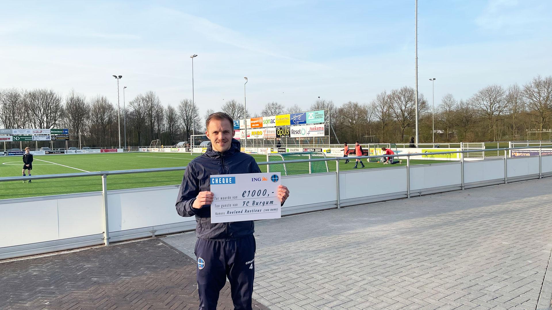 FC Burgum 1000 euro rijker met dank aan…