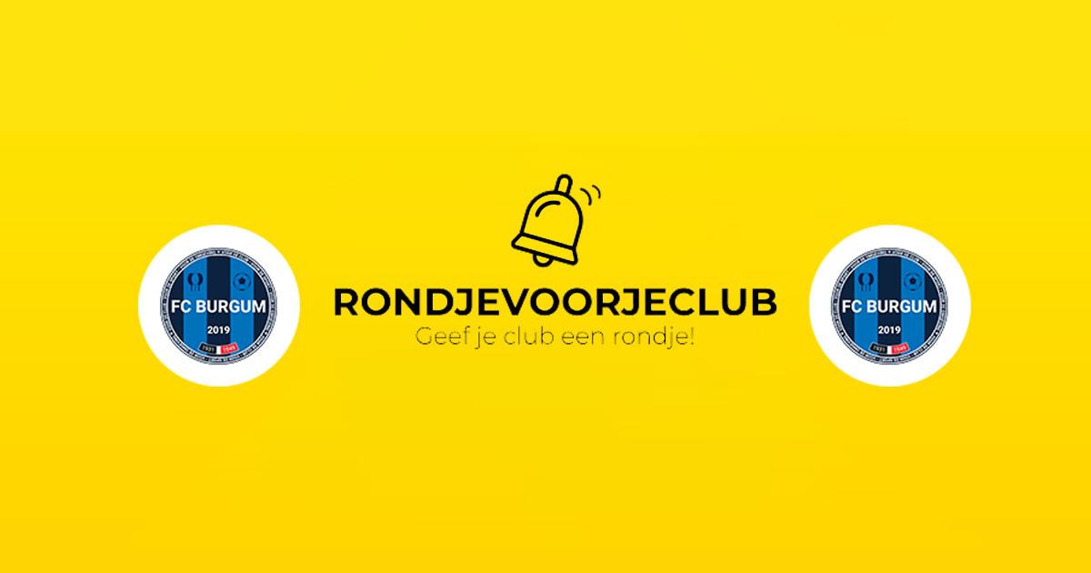 FC Burgum na eindsprint in top 10 van Rondjes-actie