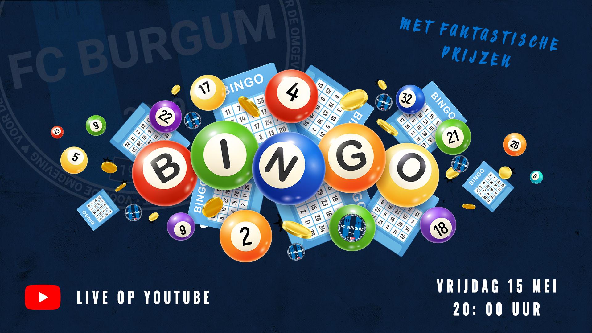 Doe mee met de online Bingo van FC Burgum!