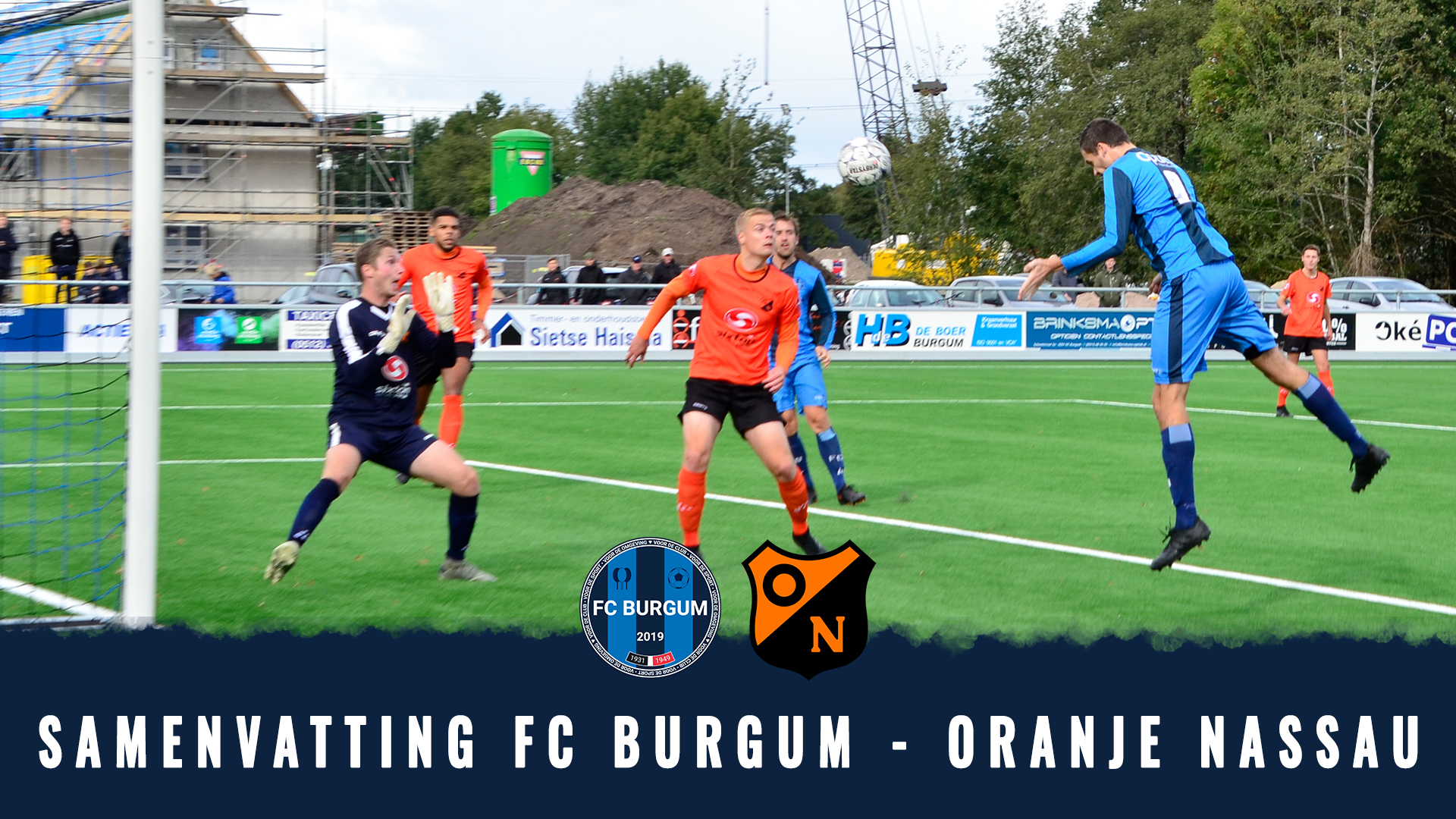 🎥 Samenvatting FC Burgum - Oranje Nassau