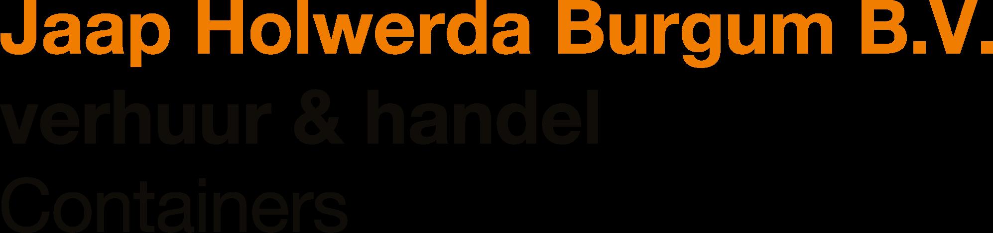 Logo Jaap Holwerda